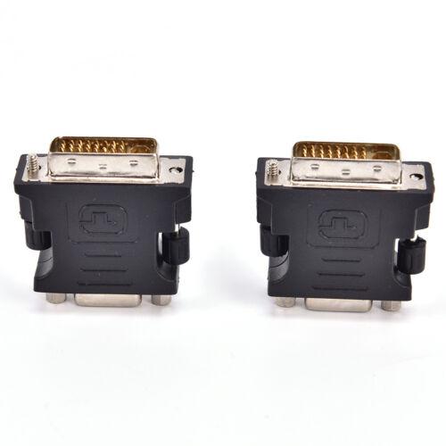 DVI TO VGA Adaptor DVI-A DVI-I SVGA HD15 Analog Monitor Converter BSB$