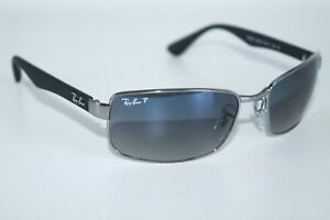10c17d3bc2 Ray Ban Active Polarized Sunglasses RB3478 004 78 Gunmetal Frame W ...