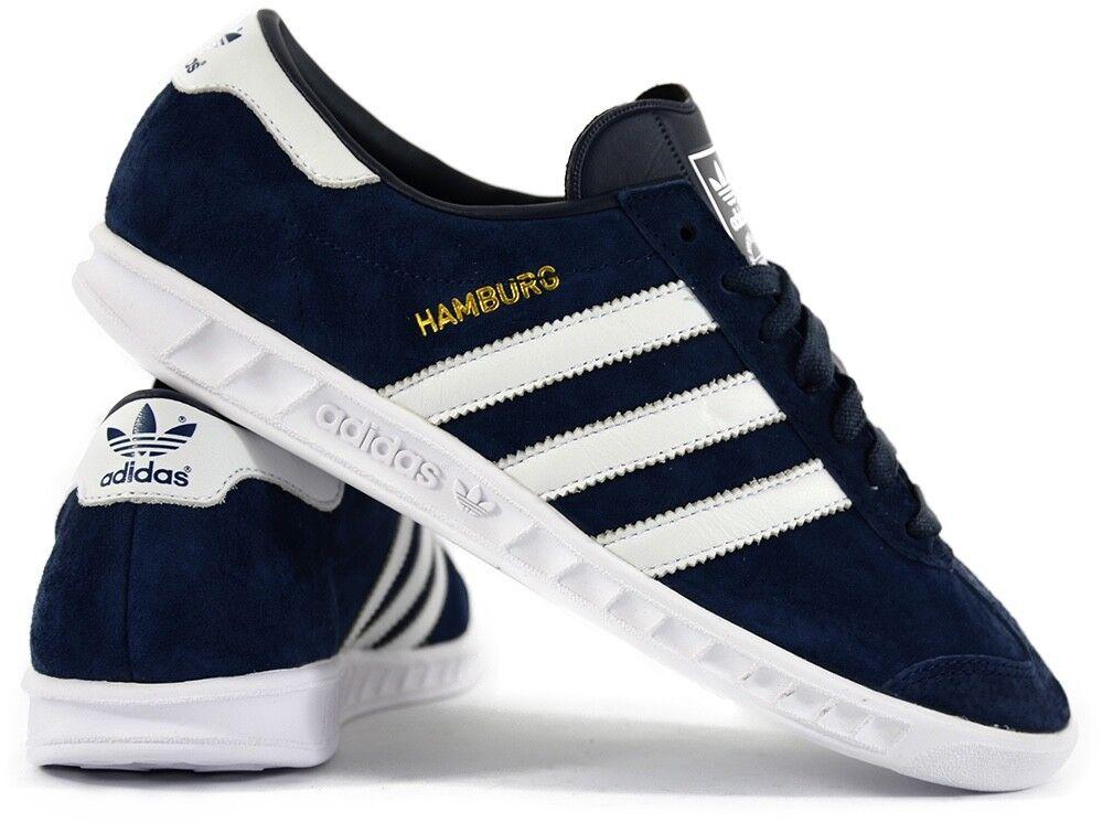 Adidas Originals Hambourg Navy Navy Hambourg Bleu Mens Trainers UK 7 [s74838] 78d6cf