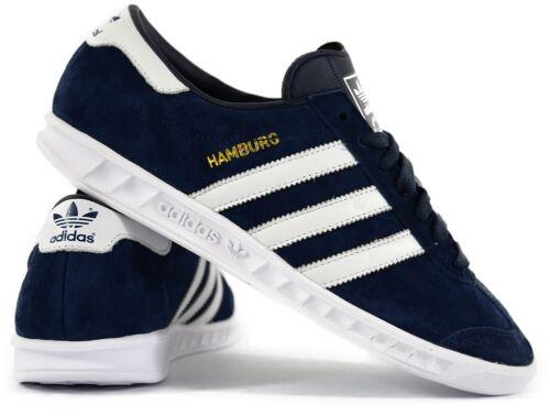 7 Scarpe Adidas blu Hamburg da uomo ginnastica scuro Originals s74838 Uk FgPnfRq