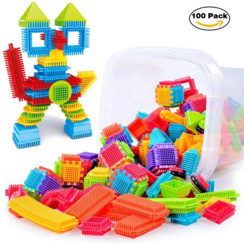 150PCS Building Blocks Construction Puzzle Kids DIY Toy Educational Game Stick C