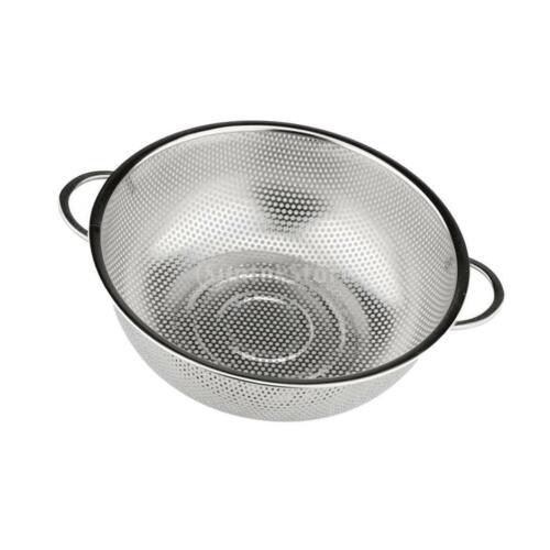 Stainless Steel Mesh Strainer Rice Colander Food Rice Drainer Kitchen Tools