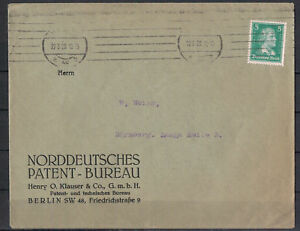 Deutsches-Reich-MiNr-388-EF-Berlin-22-03-1928-Maschinen-St
