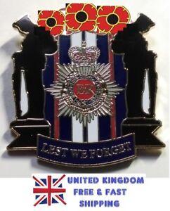 UK-Queen-Elizabeth-Remembrance-Day-Veteran-Red-Poppy-Enamel-Pin-Badge-Brooch