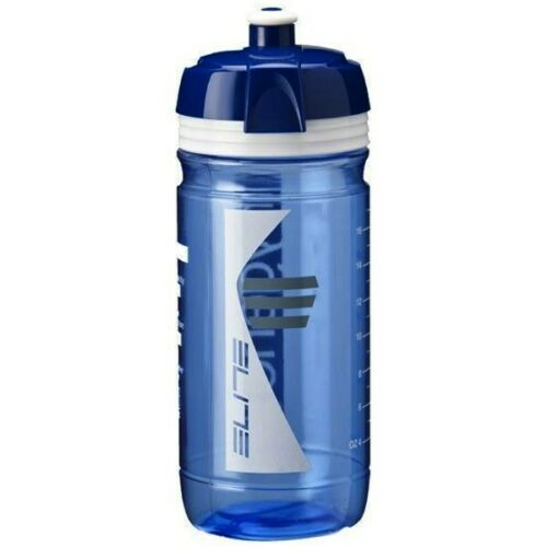 Clear Blue New Elite Hygene Corsa Cycling Water Bottle 550 ml