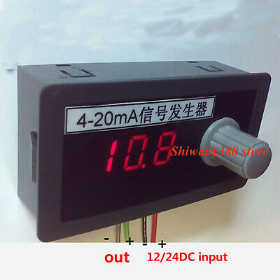 4-20ma Constant Current  Source Lab Power Supply Signal Generator Adjustable
