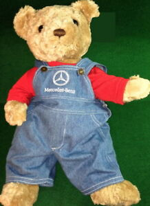 Herrington-Teddy-Bear-2002-Exclusively-Made-for-MERCEDES-BENZ-18-034-PLUSH-No-Tag