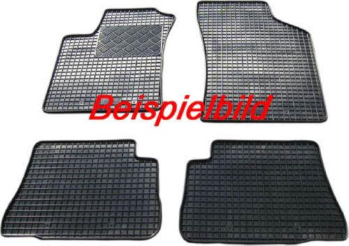 Gummifußmatten Fußmatten BMW X3 F25 ab 2011