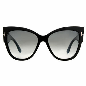 a69509e18e Sunglasses Tom Ford Original Ft0371 Anoushka Shiny Black Gradient ...