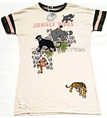 Nouveau Disney The Jungle Book Femmes Chemise De Nuit Long T-shirt Nuisette Jungle Vibes PJ