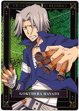 Katekyo Hitman REBORN! Grande Card Shitajiki Pencil Board HAYATO GOKUDERA