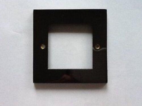MK Alloy Data Telecom Frontplate 2 Module in Black Nickel K5092 BLN Light Switch
