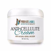 Organic Anti-cellulite Gel Slimming Cream Natural Fat Burner Healthier Skin 4oz