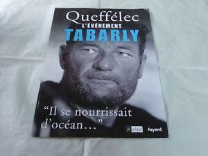 Eric-Tabarly-Queffelec-Raro-Cartel-Promocion-034-Se-Nourrissait-Oceano