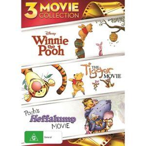 Winnie The Pooh - Triple Pack DVD