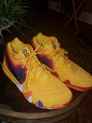 promo code b5881 ee885 Nike Kyrie 4 ep 70s uncle drew decades pack yellow Basketball shoes. Size  11. | eBay