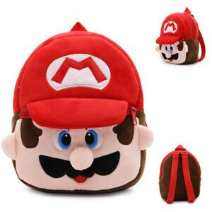 comprare popolare f33ed eedce Dettagli su Zainetto asilo gioco bimbi Minion Super Mario