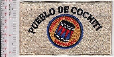 Ne American Indian Tribe Seal New Mexico Isleta Pueblo Tanoan Bernalillo County