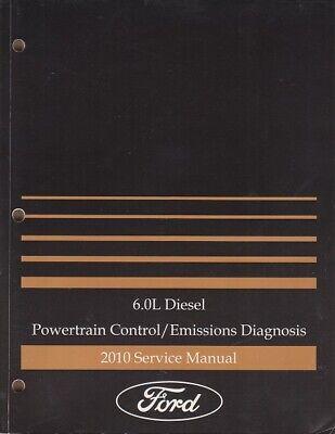 2007 Ford 6.0L Diesel Powertrain Control Emissions Diagnosis Service Manual OEM