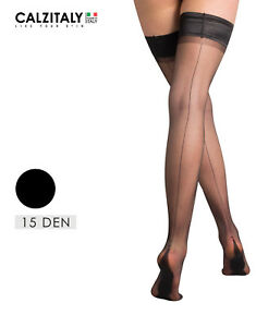 8bec006ee3d Image is loading Sheer-Hold-Up-with-Back-Seam-Woman-Hold-