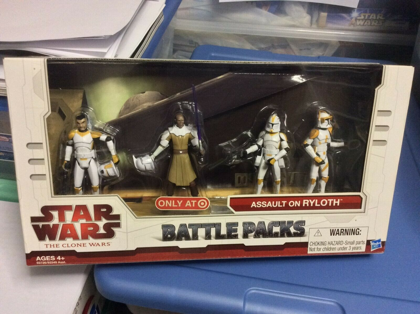 Estrella Wars The Clone Wars ataque sobre Ryloth Battle Pack 2009 Exclusivo Target