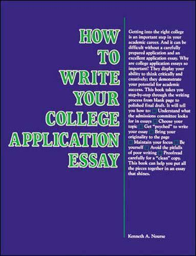 How to Write Your College Application Essay  Vgm Opportunities Series