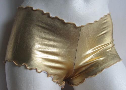 Designer Spitzen Hot Pants SM oder ML Leg Avenue 2905 gold OVP