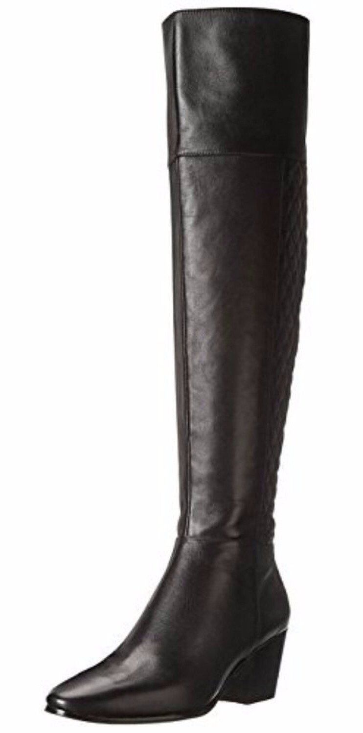 Cole Haan Everly Black Over-The-Knee Riding Boot (Women)