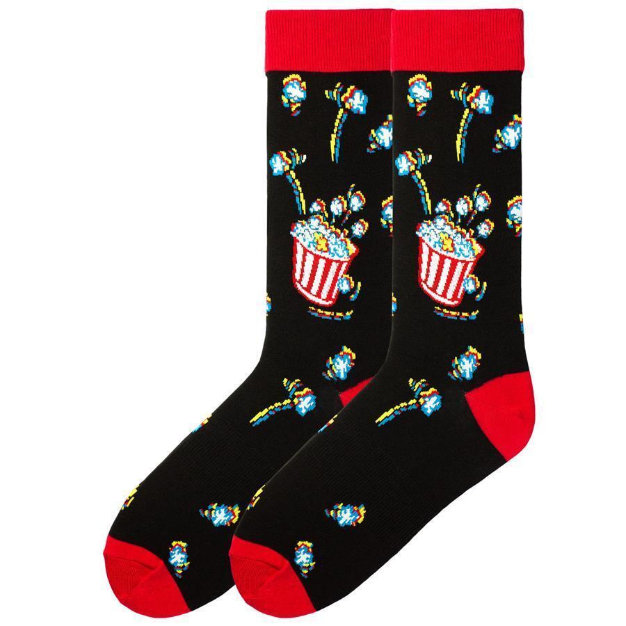 K. Bell Herren 3D Popcorn Crew Socken Einheitsgröße - KBMS15H115-01