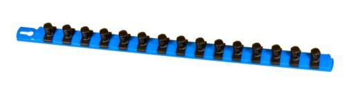 Ernst 8405 1/2 Drive DURA-PRO Twist Lock Socket Organizer Rail BLUE