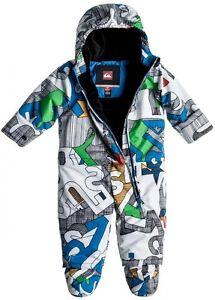 1d520e6cb Chargement de l'image Quiksilver-Little-Rookie-Baby-Suit-One-Piece-Snowsuit-