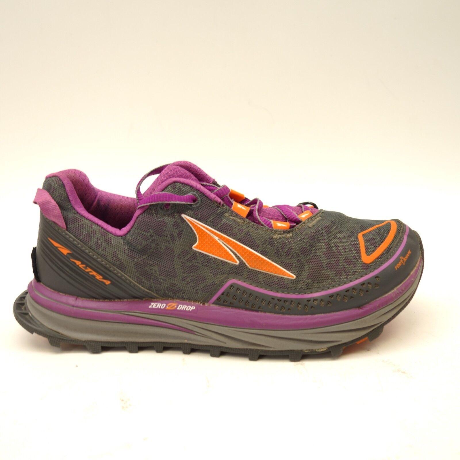Altra Donna Timp Trail Zero Goccia Supporto Atletico Trail-Running Scarpe Numeri