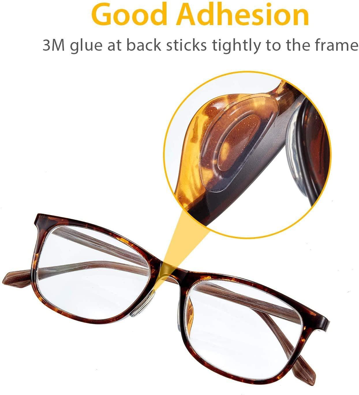 24 Paar Brille Nasenpads Weiche Silikon Nasenpads Rutschfeste Selbstklebende