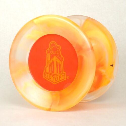 Daydream Fire Red Yo Yo From The YOYOFactory 3 Free Neon Strings YELL//ORG//GRN