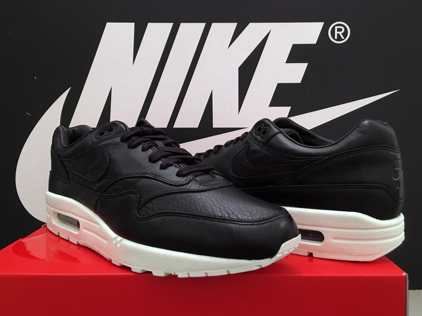 DS DS DS 2017 NikeLab AIR MAX 1 Pinnacle UK10 EU45 Nero mi BW 180 95 TN bianco sporco RARO | Eccellente  Qualità  | Uomini/Donna Scarpa  b3b024
