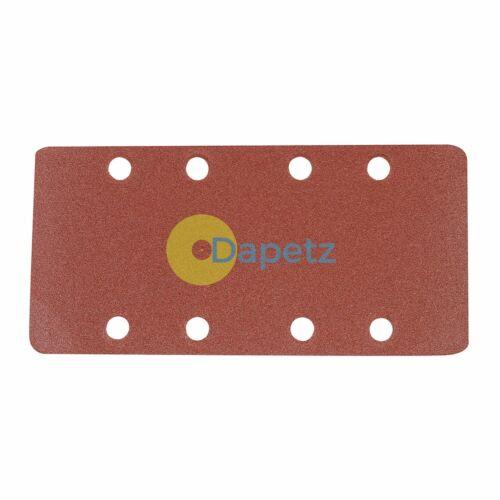Sanding Sheets Discs Detail Mouse Sander Sandpaper Wet /& Dry Black Decker Grit