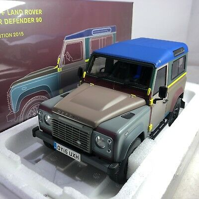 Land Rover Defender 90 Almost Real 1:18-810214 Paul Smith Edition