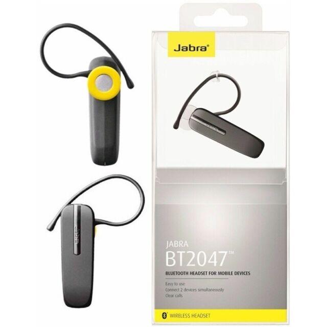cb523fd0c40 Genuine Jabra Bt2047 Wireless Bluetooth Headset Grey for sale online ...