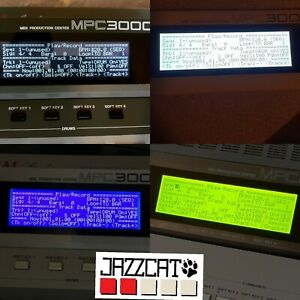 Akai Mpc 3000 Del Xl Display-afficher Le Titre D'origine