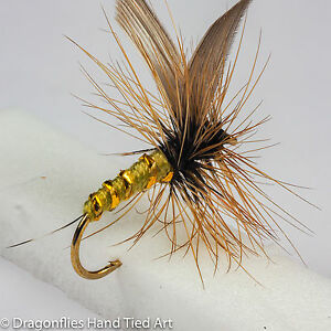 GREENWELLS-GLORY-Dry-Fly-Trout-fly-Fishing-flies-by-Dragonflies