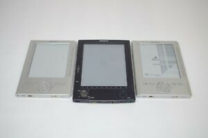 Lot-of-3-Sony-eReaders-2X-PRS-300-PRS-500