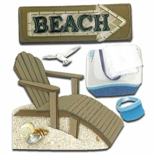 Buy 3 Get 2 FREE Jolee/'s Sticko Dimensional Stickers Sealife Beach Shells