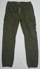 AXE & CROWN Jogger Cargo Pants - Army Green - Men's Size Large