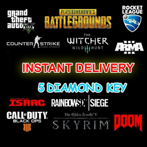 5-DIAMOND-Random-Steam-Keys-Worth-more-than-80-INSTANT-DELIVERY