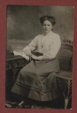 Miss Archer, Winter Street, Halifax 'Emmie' photograph    postcard db25