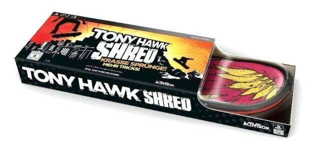 Tony Hawk Shred Bundle - Jeu + Skateboard - Playstation PS3 - NEUF - Rare
