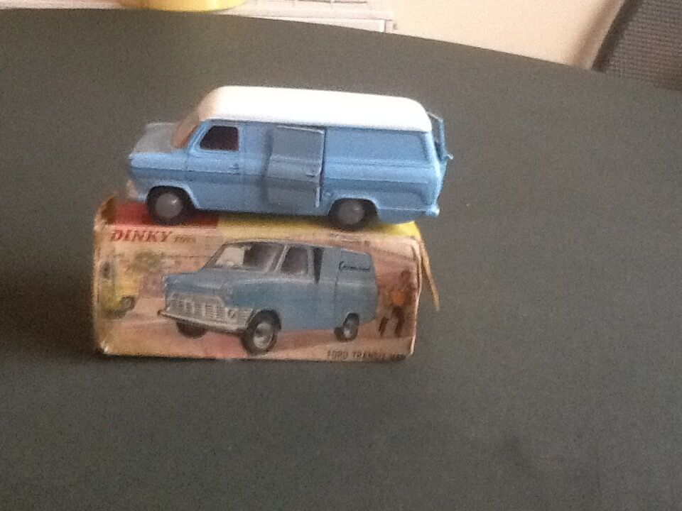 Dinky ford transit Van kenwood Reduced From  to