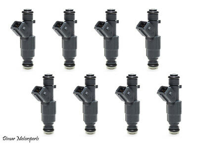 01-04 Jeep 4.7 BOSCH III UPGRADE FUEL INJECTOR SET 4-HOLE NOZZLE 8