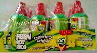 Pelon Pelo Rico Tamarind Push Up Candy, 12-count