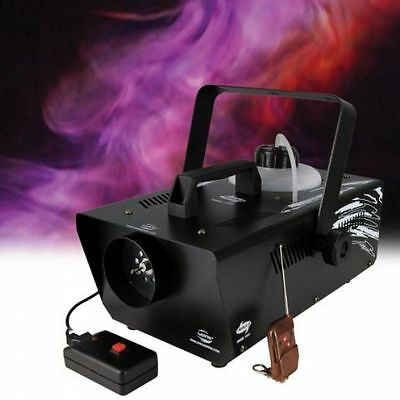 Lanta nebula smoke 1000 Powerful fog machine with wireless remote disco dj club